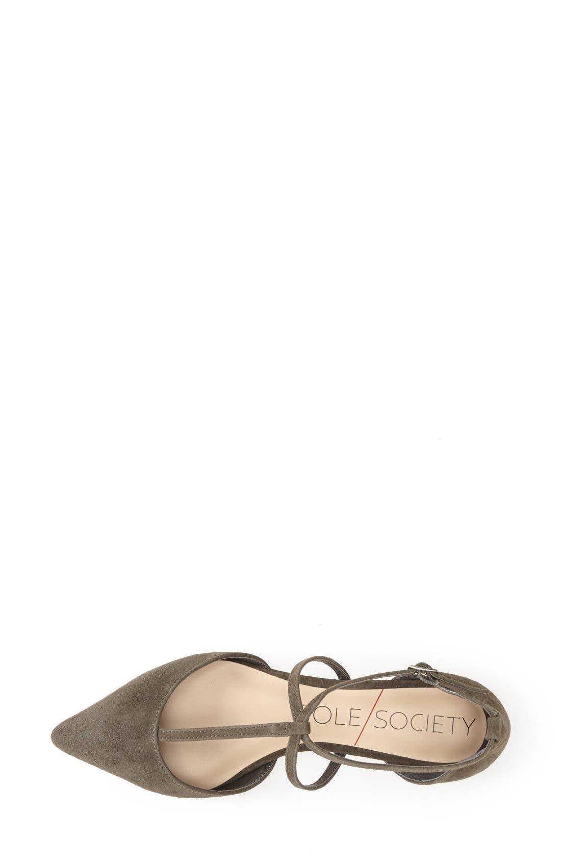 Alternate Image 3  - Sole Society 'Chandler' Pointy Toe Flat (Women)