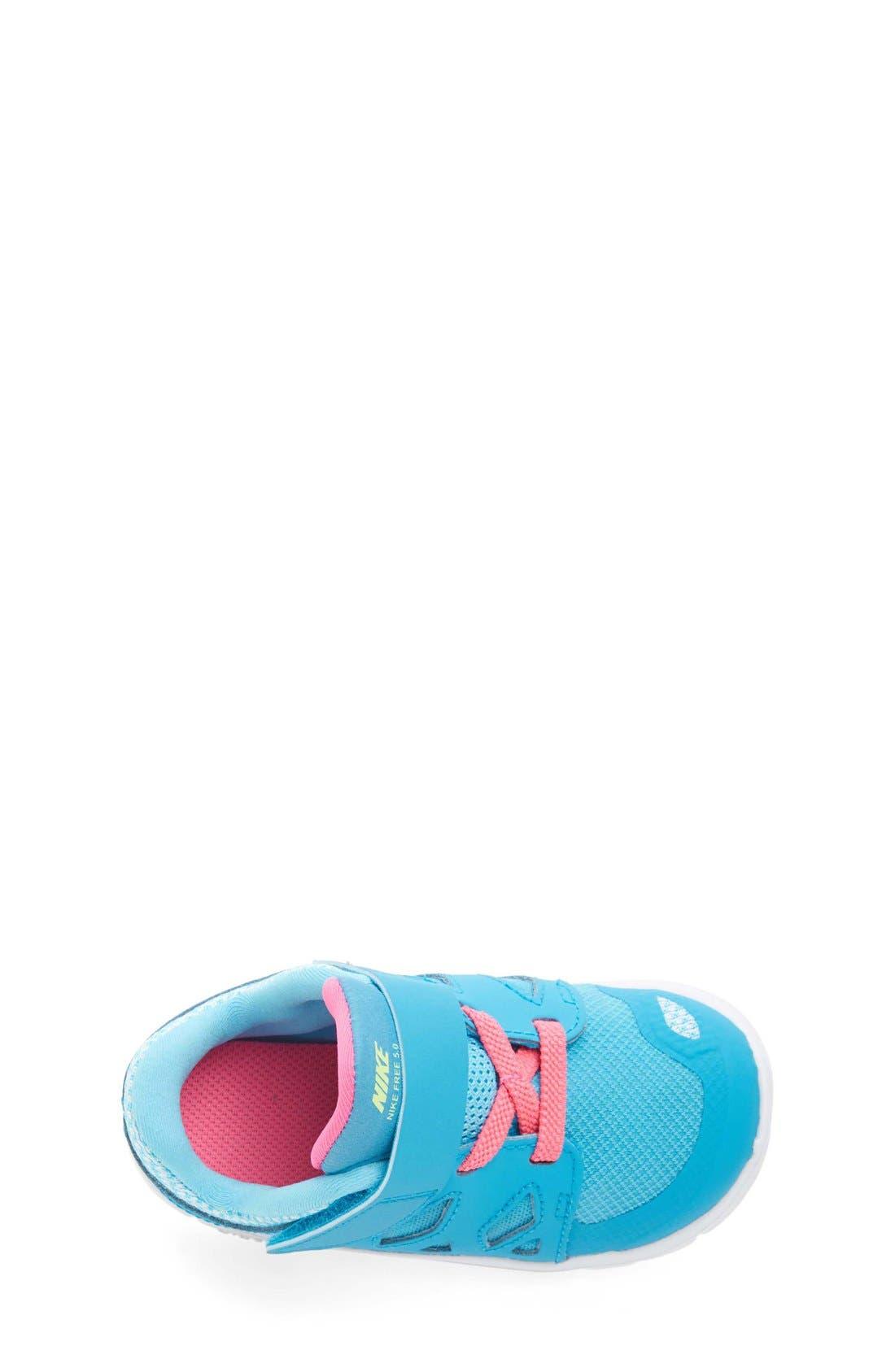 Alternate Image 3  - Nike 'Free 5' Athletic Shoe (Baby, Walker & Toddler)