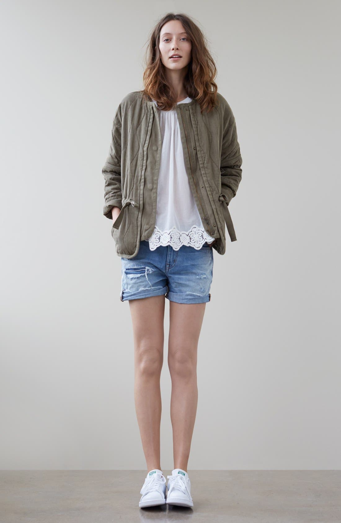 Alternate Image 6  - Madewell Quilted Drawstring Jacket