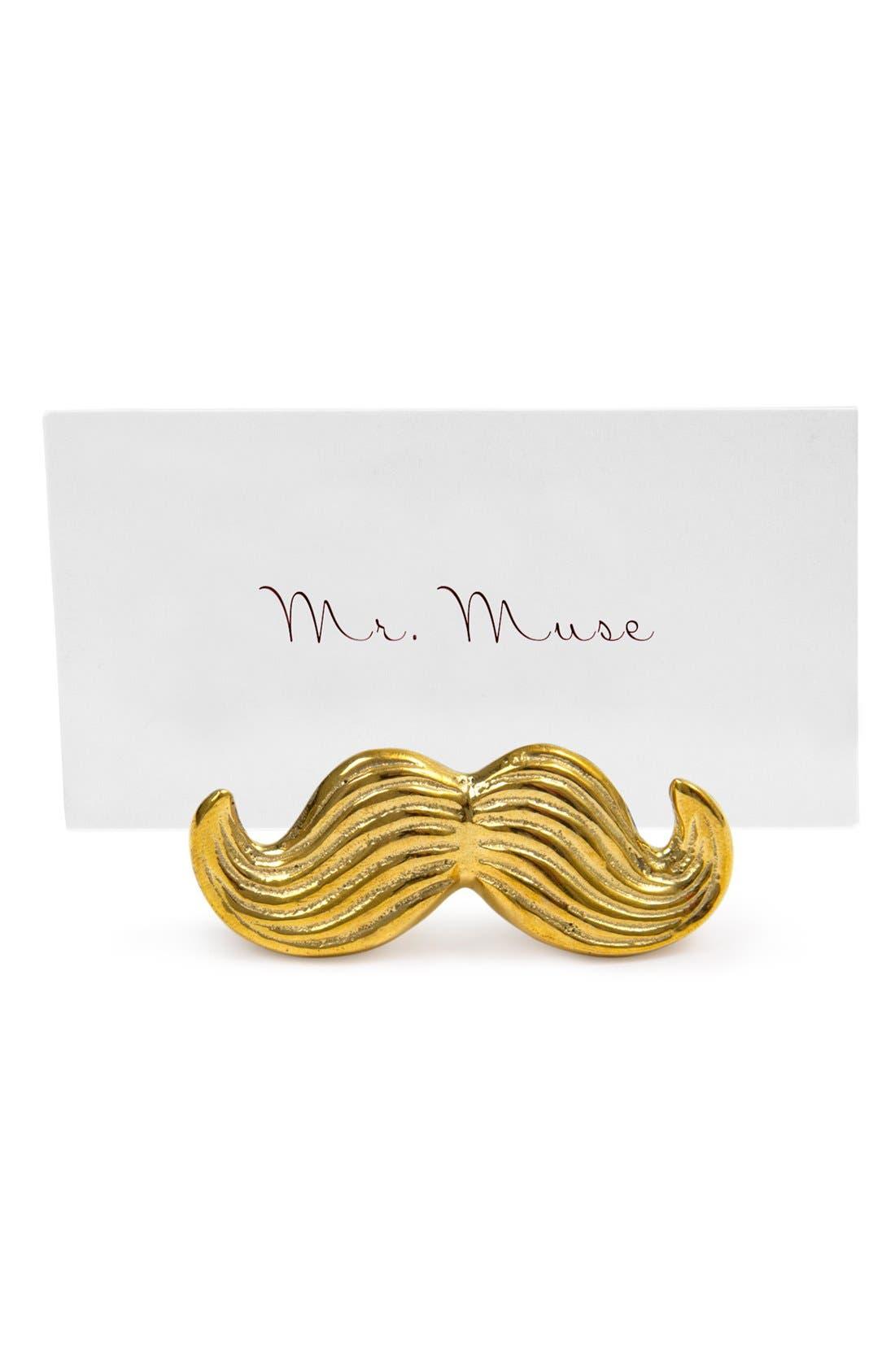 Alternate Image 3  - Jonathan Adler 'Mr. & Mrs. Muse' Brass Place Card Holders (Set of 4)