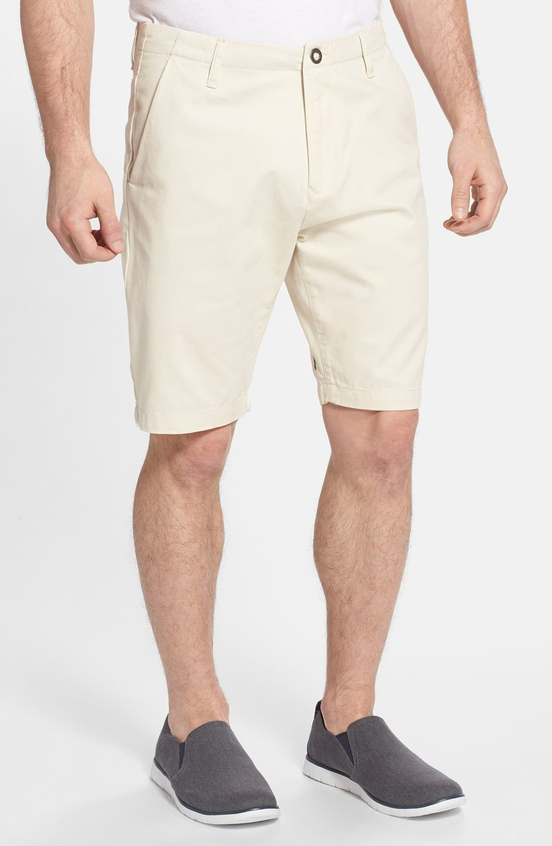 Alternate Image 1 Selected - Volcom 'Faceted' Twill Shorts