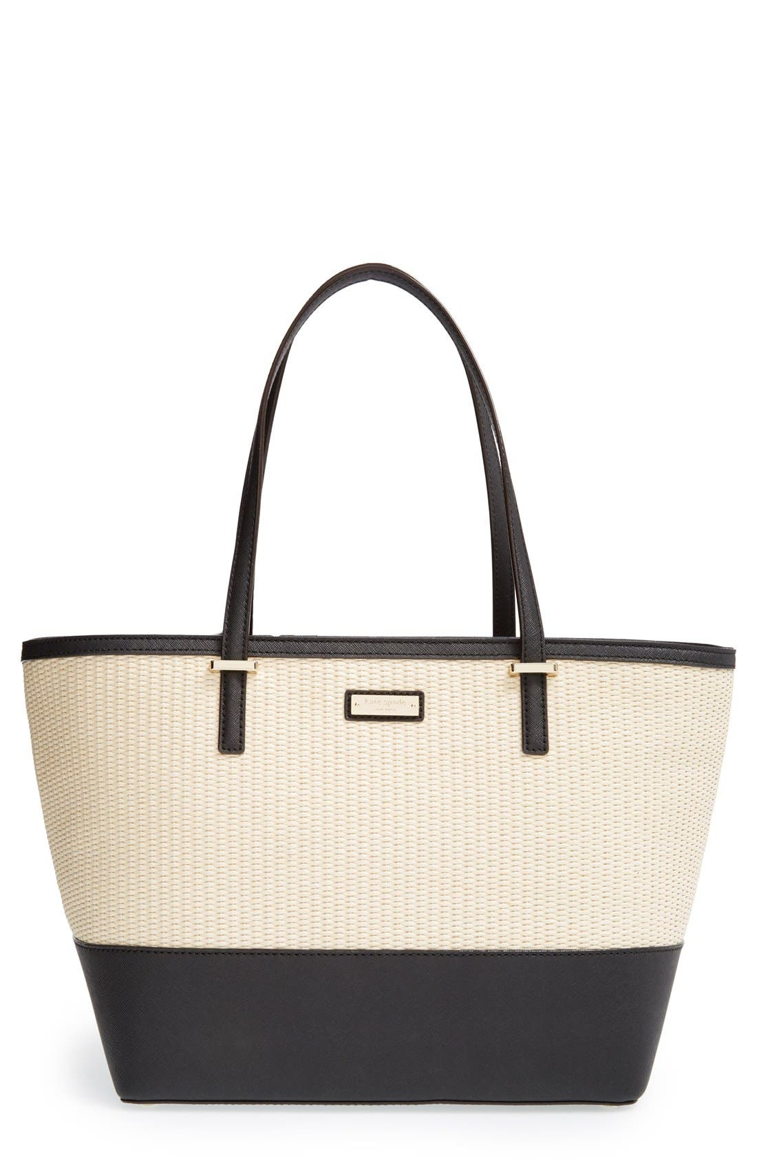 Alternate Image 1 Selected - kate spade new york 'cedar street harmony - small' woven tote