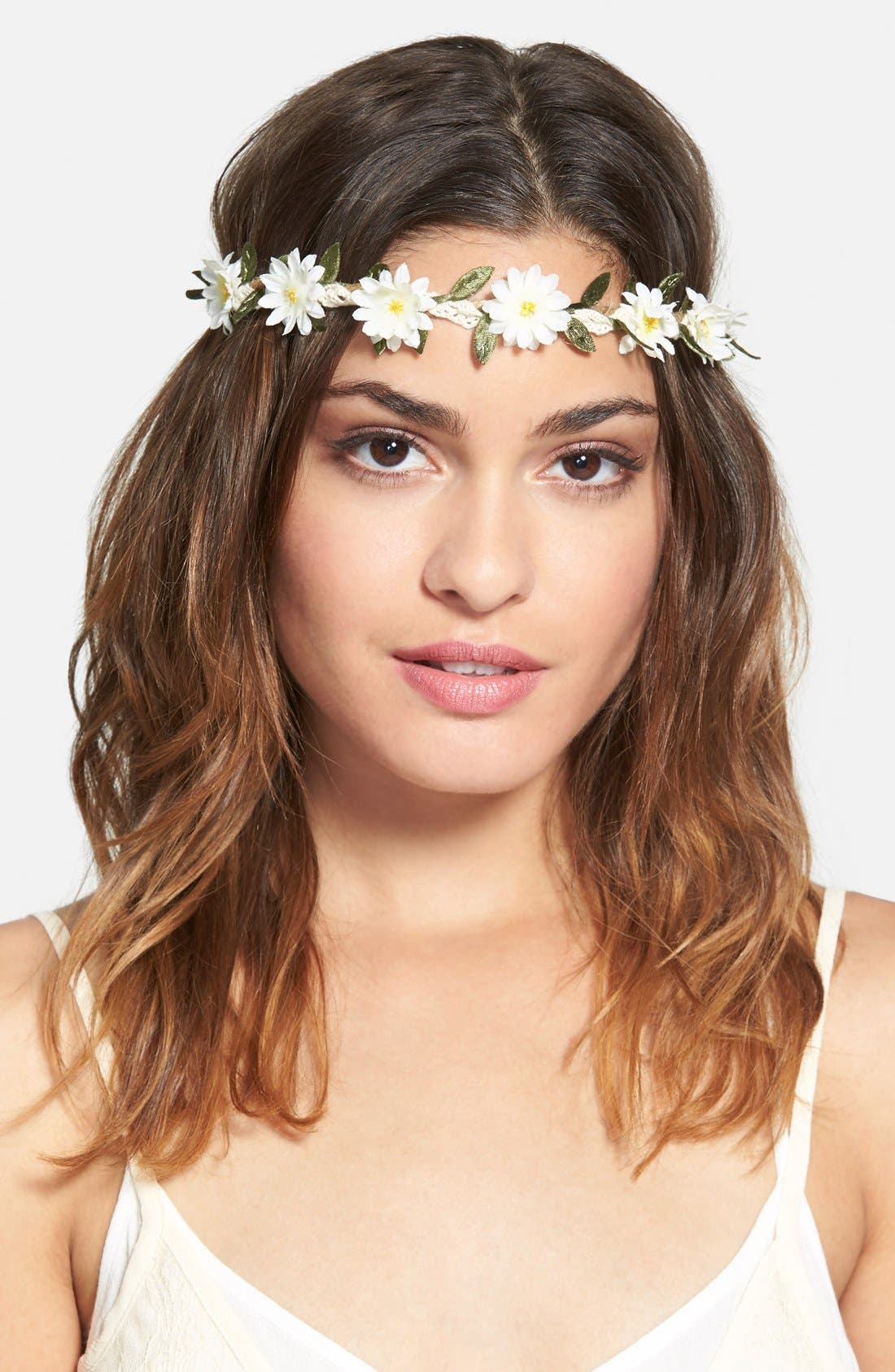 Main Image - BP. Daisy Rope Headband (Juniors)