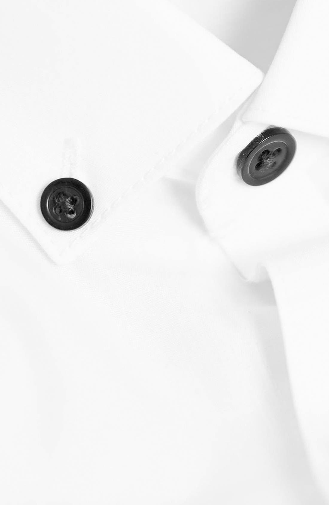 Alternate Image 4  - Topman Slim Fit Dress Shirt