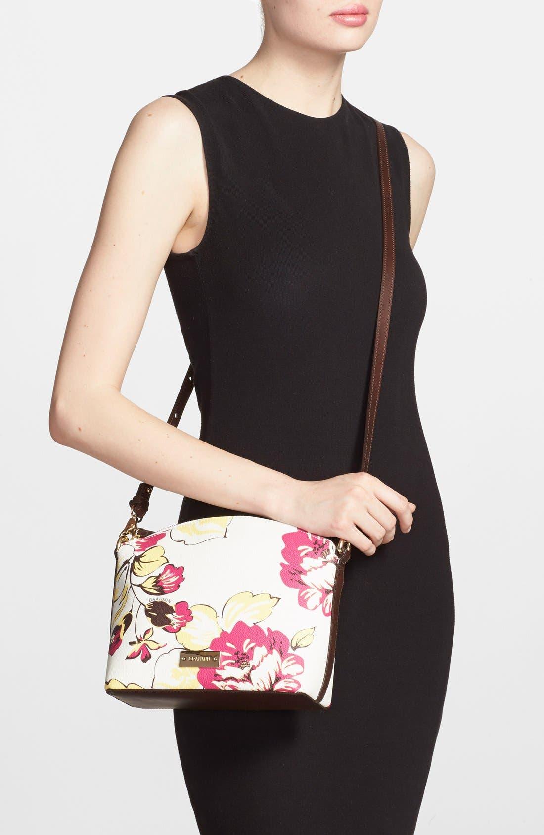 Alternate Image 2  - Brahmin 'Mini Duxbury' Leather Crossbody Bag
