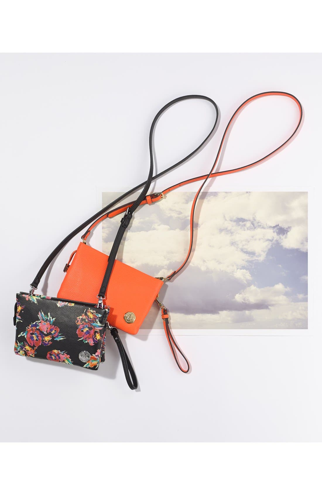 Alternate Image 5  - Vince Camuto 'Cami' Leather Crossbody Bag