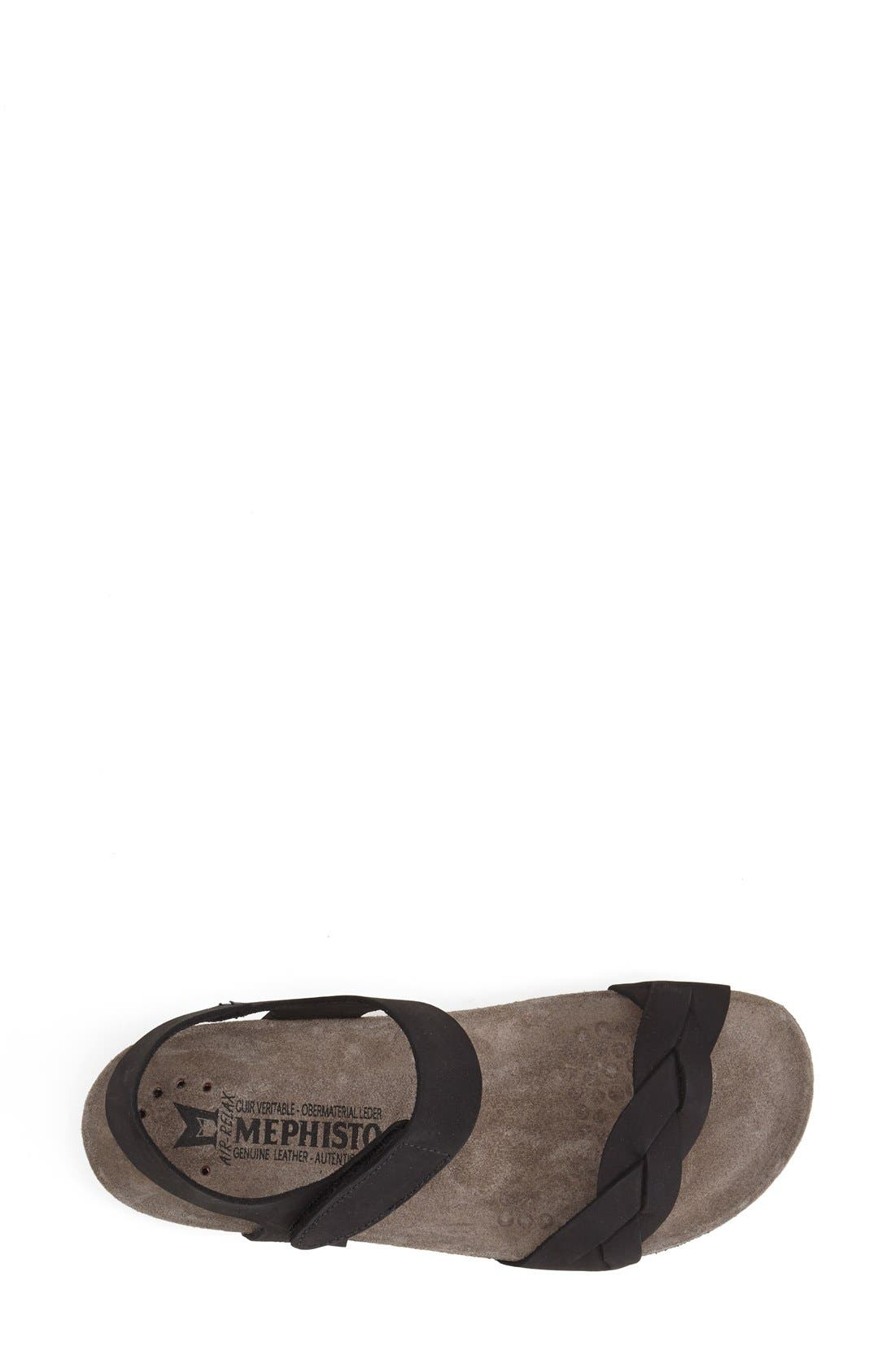 Alternate Image 3  - Mephisto 'Honoria' Nubuck Leather Sandal (Women)