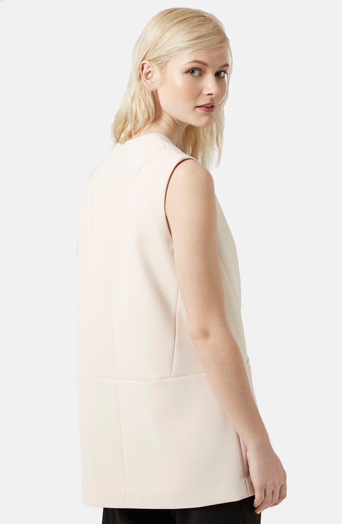 Alternate Image 3  - Topshop 'Molly' Longline Vest
