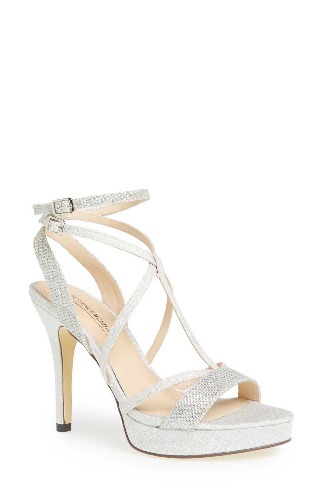 Alternate Image 1 Selected - Menbur 'Algar' Glitter Platform Sandal (Women)
