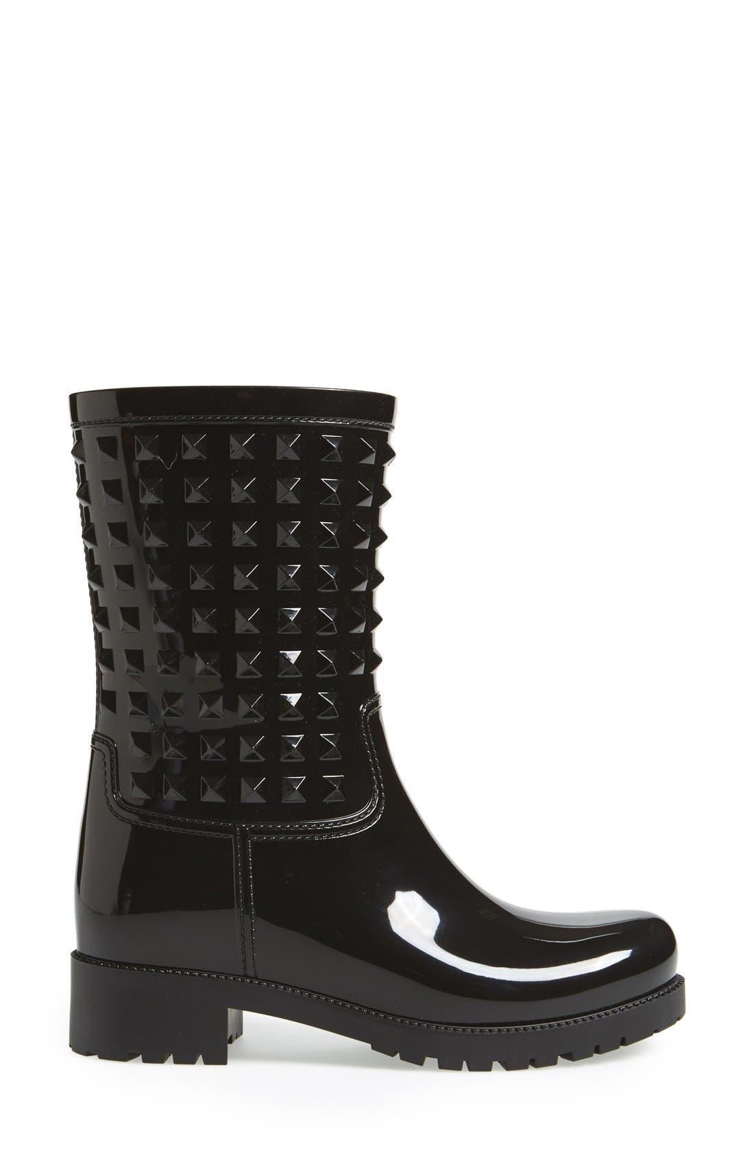 Alternate Image 4  - Valentino 'Rockstud' Rain Boot (Women)