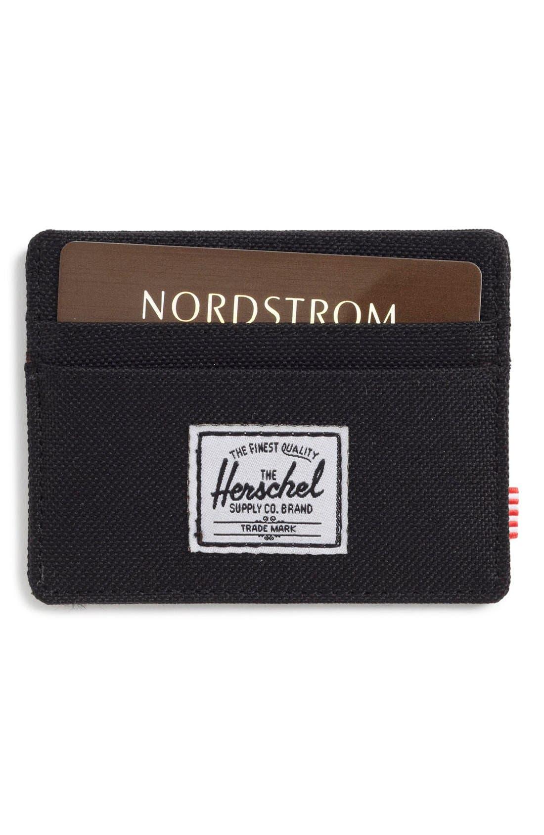 Main Image - Herschel Supply Co. Charlie Card Case