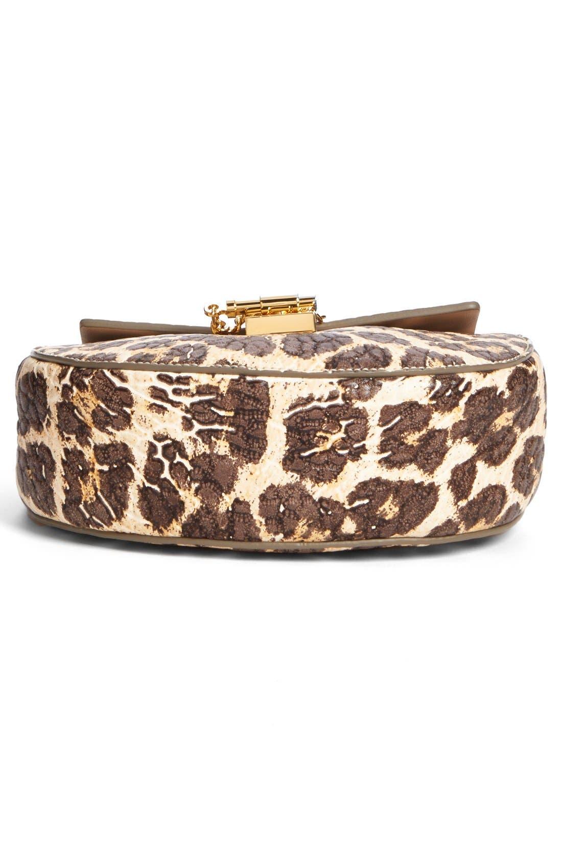 Alternate Image 5  - Chloé 'Drew' Leopard Print Leather Shoulder Bag