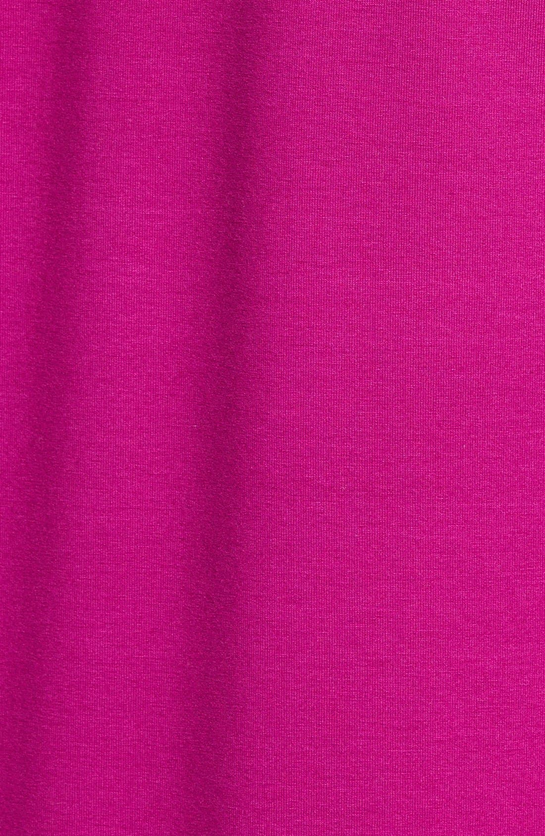 Alternate Image 3  - Eileen Fisher V-Neck Stretch Knit Top (Regular & Petite)