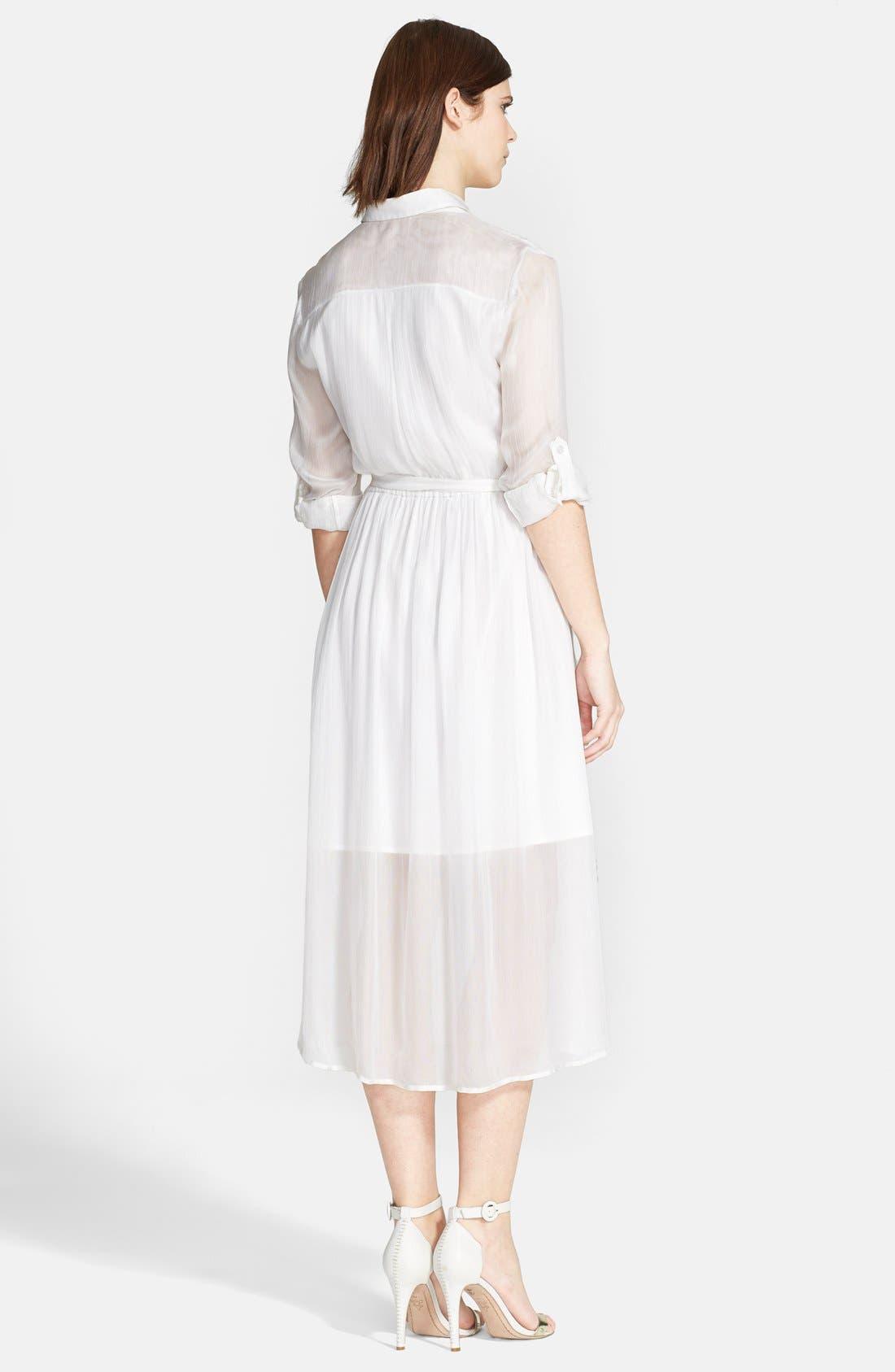 Alternate Image 2  - Alice + Olivia 'Maia' Belted Shirtdress