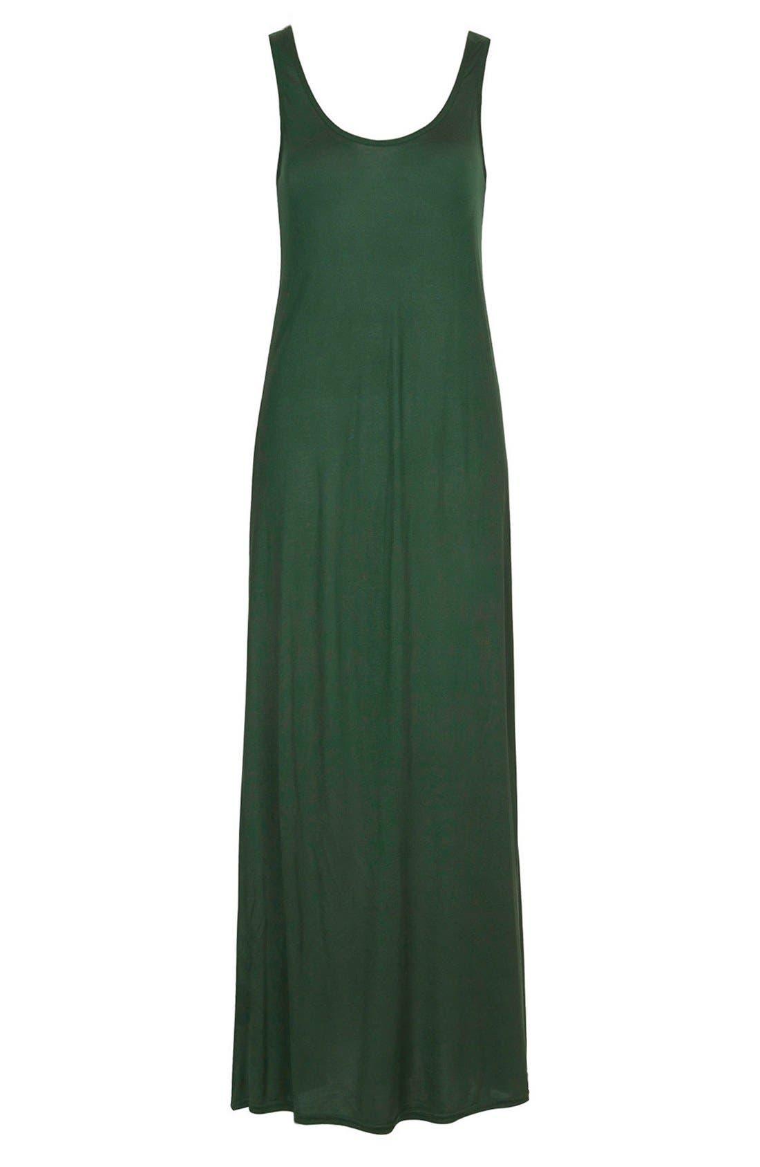 Alternate Image 3  - Topshop Knit Tank Maxi Dress