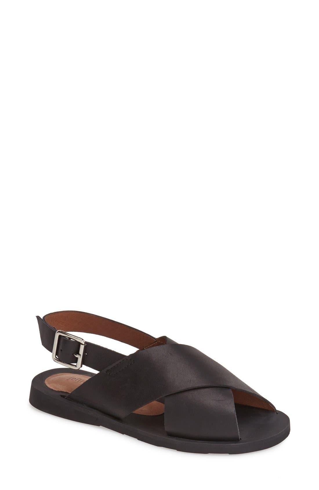 Alternate Image 1 Selected - Jeffrey Campbell 'Maldives' Leather Sandal (Women)