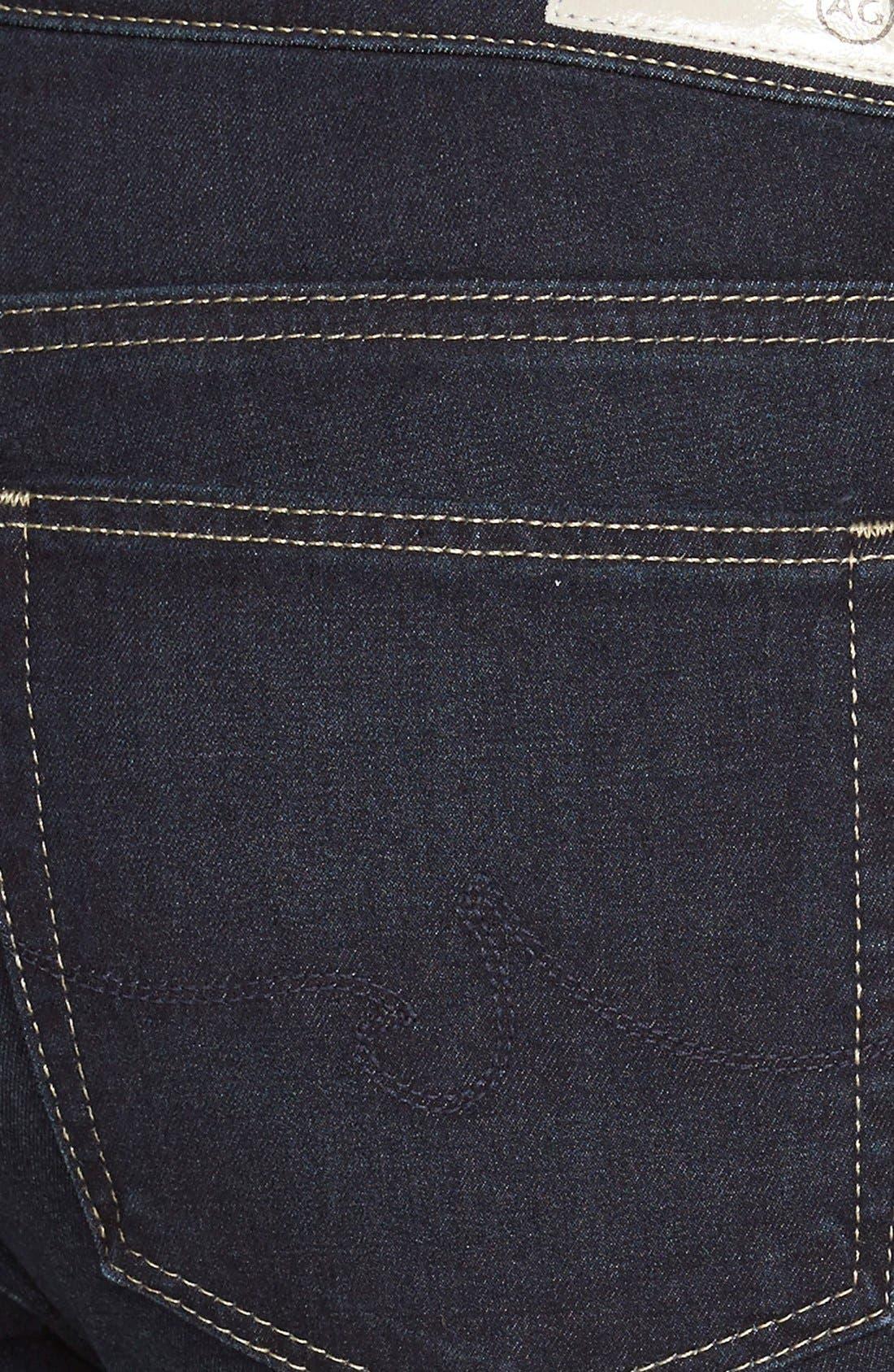 Alternate Image 3  - AG 'Contour 360 - Prima' Cigarette Jeans (Atoll)