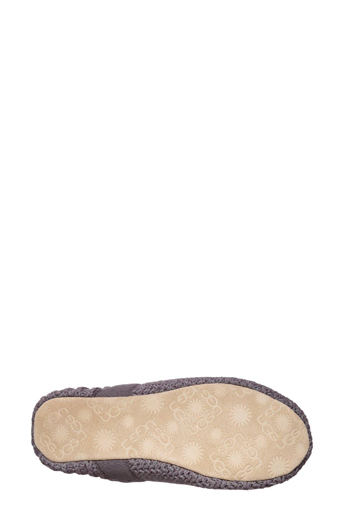 Alternate Image 4  - UGG® Australia 'Calypso' Knit Slipper