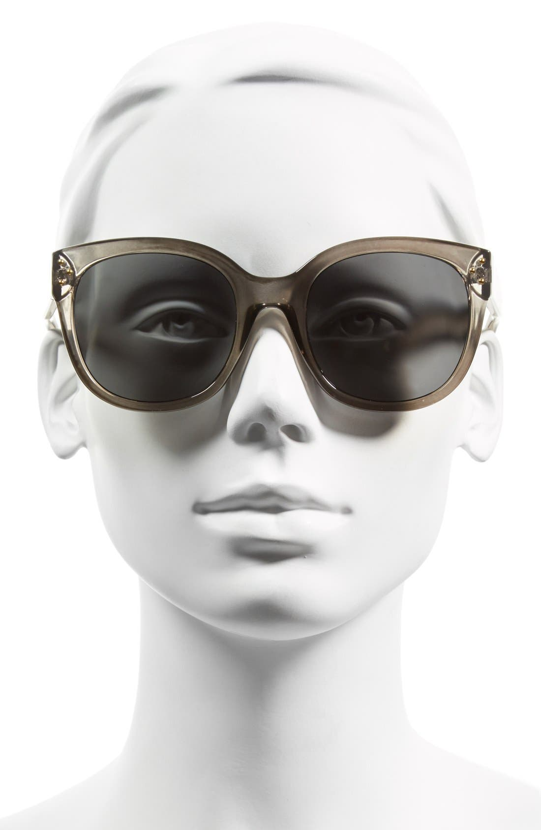 Alternate Image 2  - A.J. Morgan 'Pristine' 55mm Oversized Sunglasses