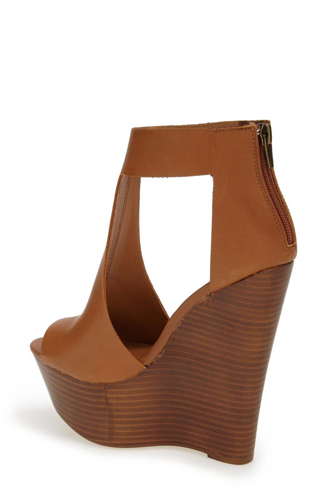 Alternate Image 2  - Steve Madden 'Gunnther' Platform Wedge Sandal (Women)