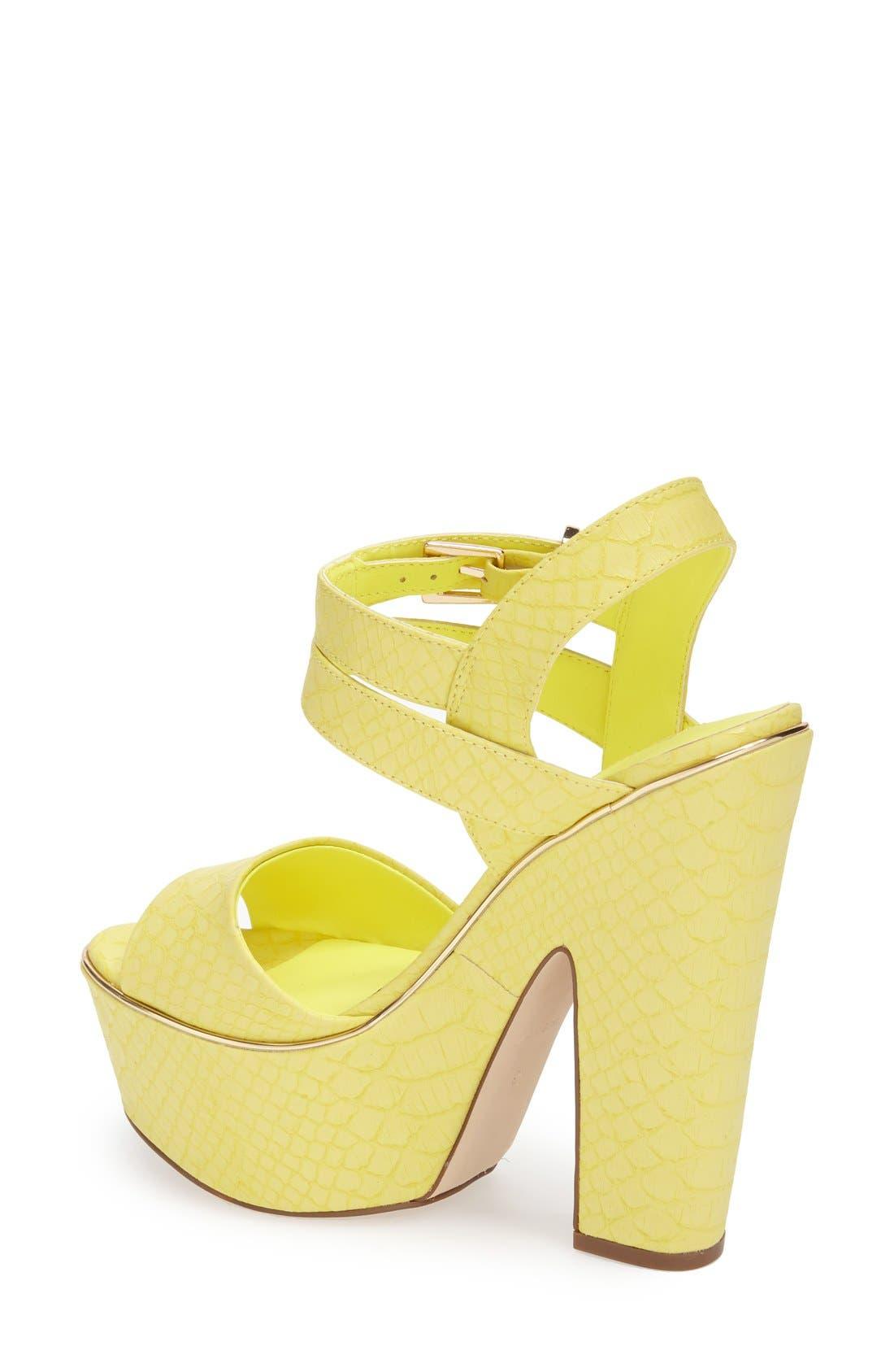 Alternate Image 2  - Topshop 'Lenni2' Platform Sandal (Women)