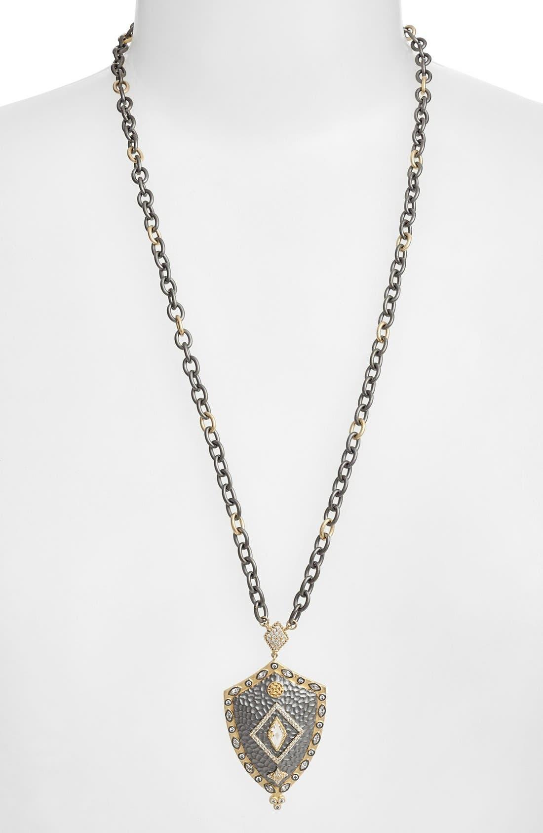 Alternate Image 2  - FREIDA ROTHMAN 'Metropolitan' Shield Pendant Necklace (Online Only)