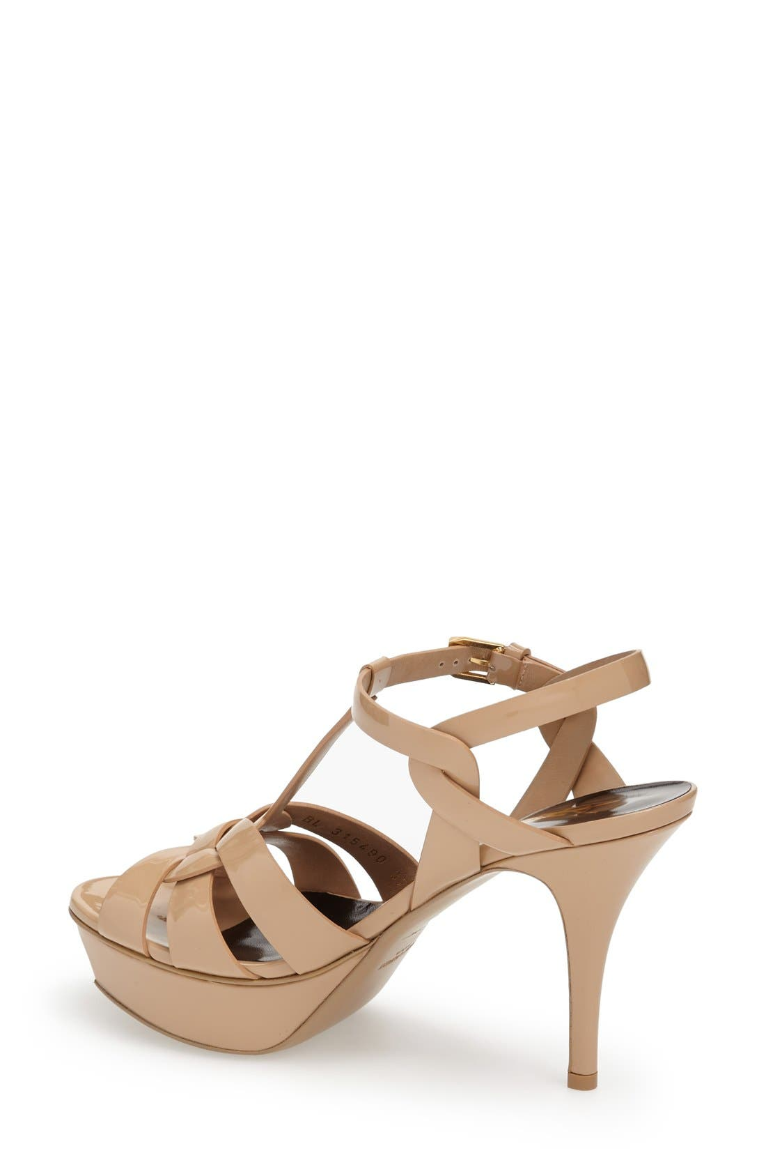Alternate Image 2  - Saint Laurent 'Tribute' T-Strap Sandal (Women)