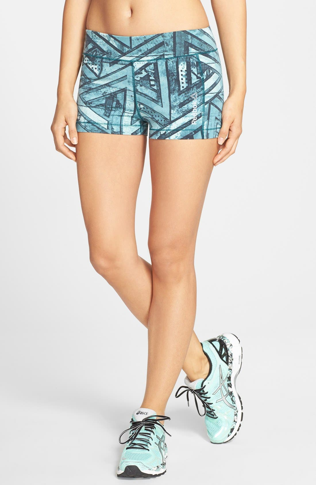 Alternate Image 1 Selected - Reebok 'ONE Series' Graphic Print Hot Shorts