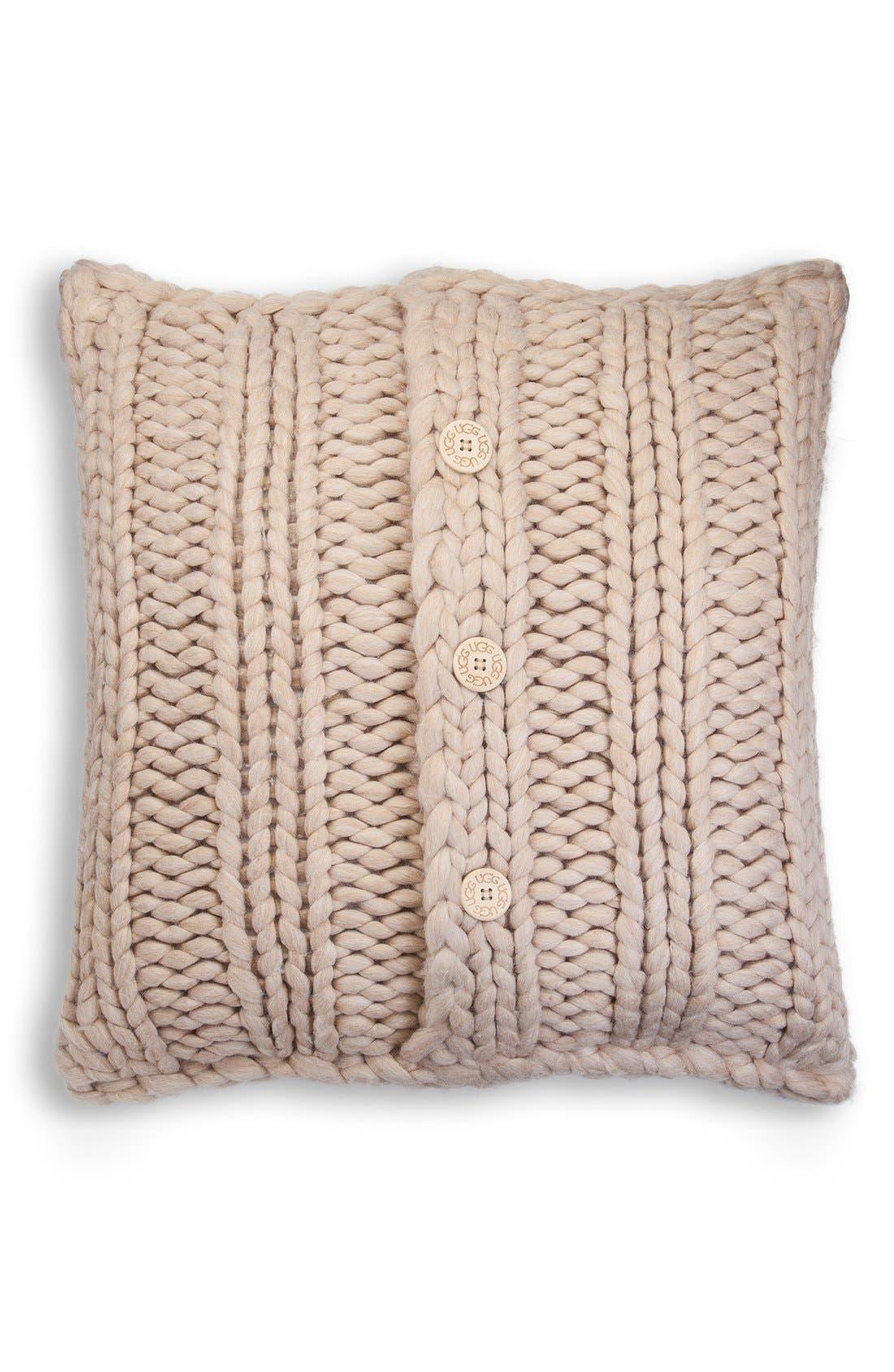Alternate Image 1 Selected - UGG® Oversize Knit Pillow