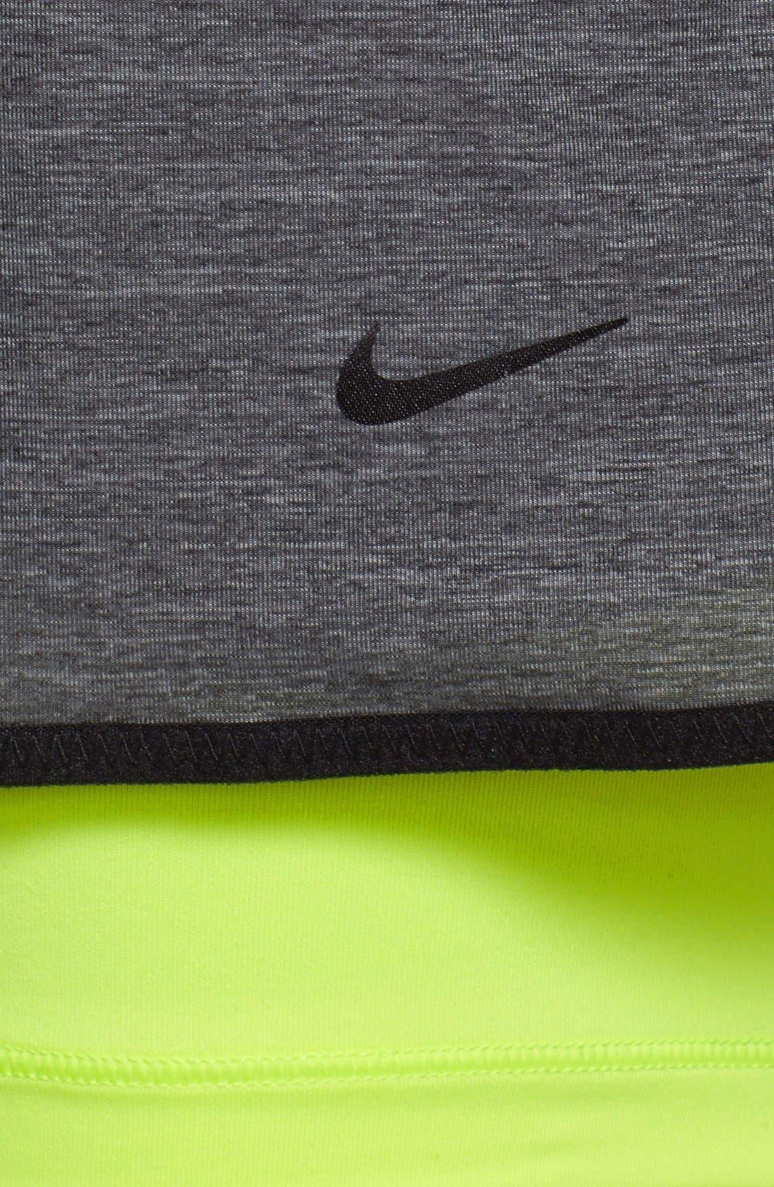 Alternate Image 7  - Nike 'Pro Inside Full Flex' Dri-FIT Training Shorts (Women)