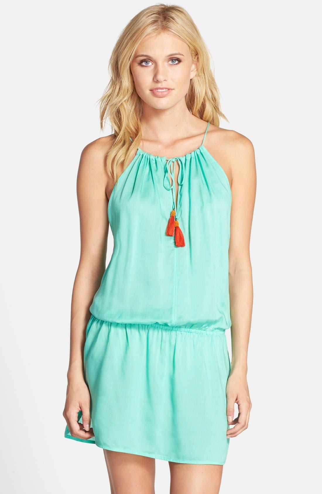 Alternate Image 1 Selected - Sofia by ViX Swimwear Drop Waist Cover-Up Dress