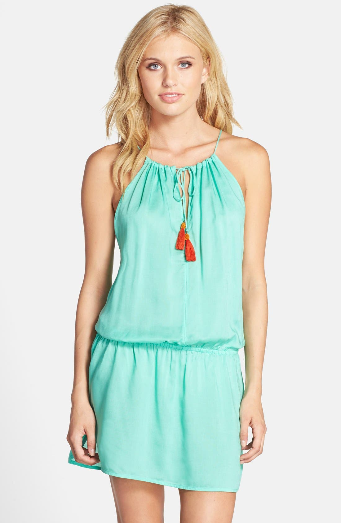 Main Image - Sofia by ViX Swimwear Drop Waist Cover-Up Dress