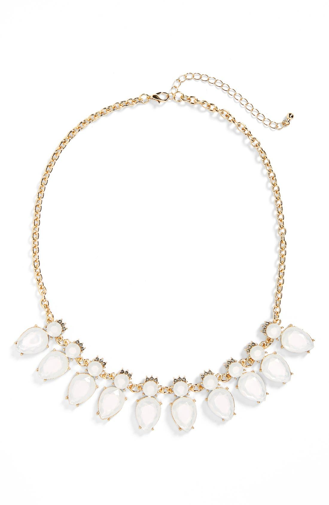 Alternate Image 1 Selected - BP. Crystal & Stone Statement Necklace