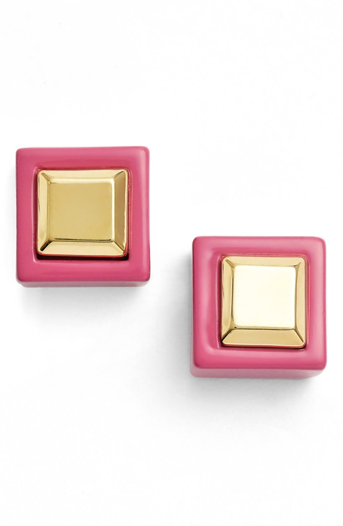 Main Image - MARC BY MARC JACOBS 'Kandi' Square Stud Earrings