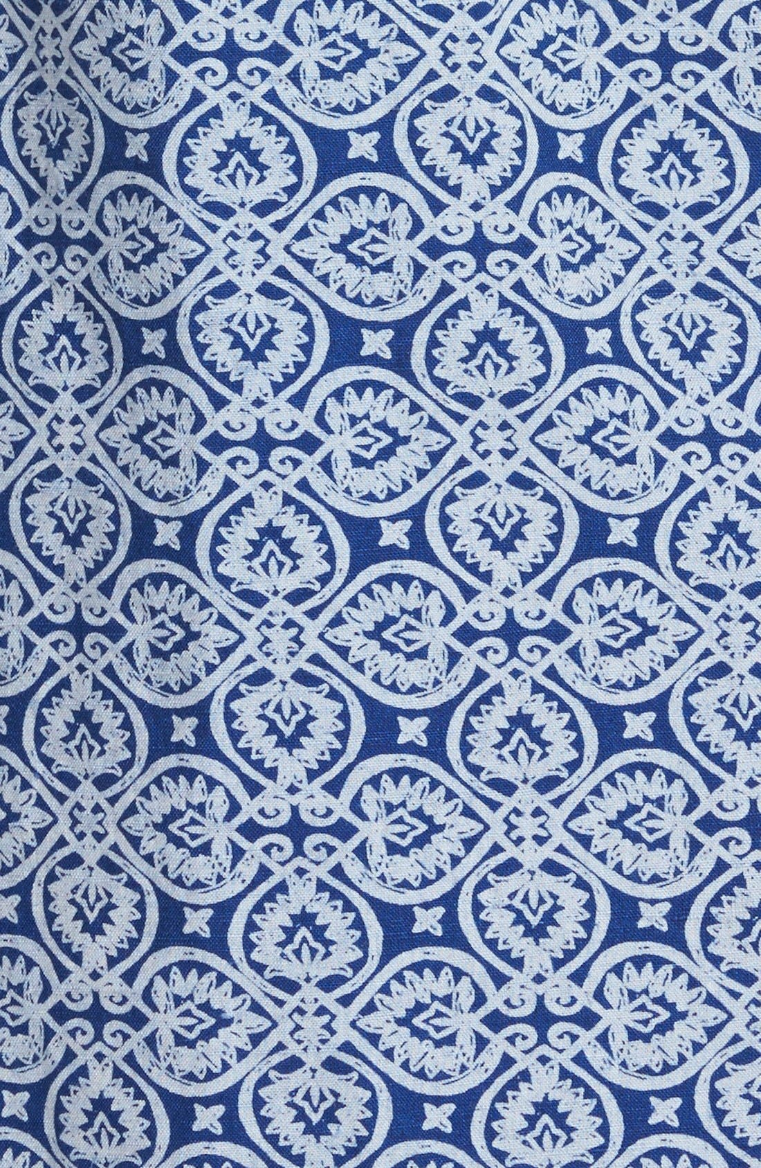Alternate Image 3  - Vineyard Vines Tile Print Shift Dress