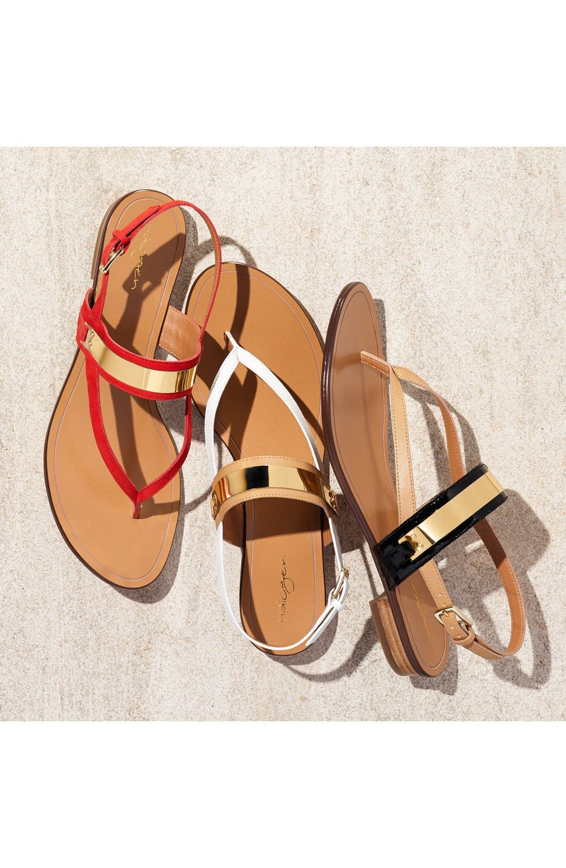 Alternate Image 5  - Halogen® 'Rita' Thong Sandal (Women)