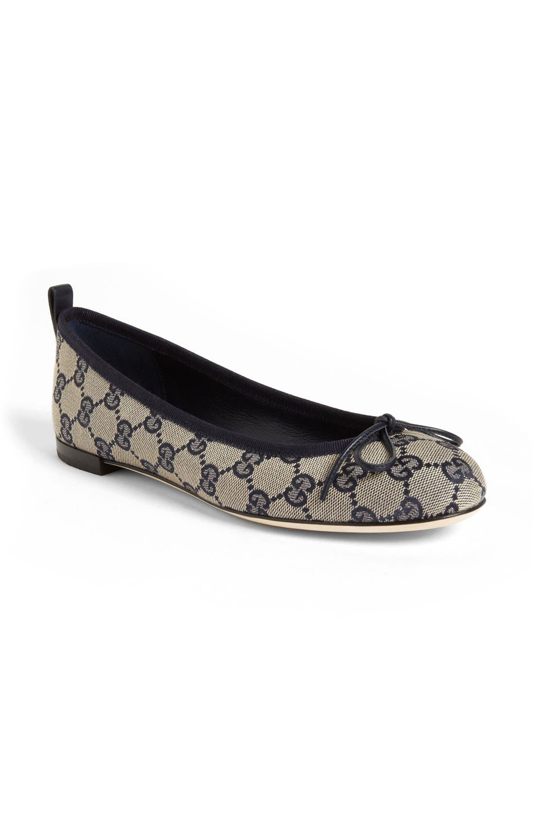 Alternate Image 1 Selected - Gucci 'Ali' Ballet Flat