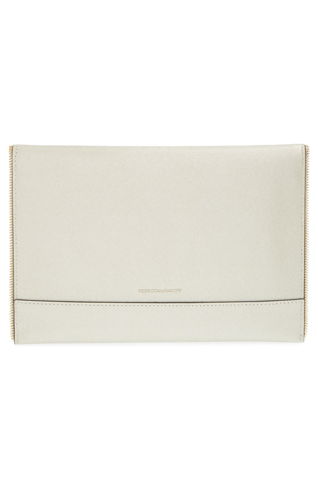 Alternate Image 3  - Rebecca Minkoff 'Leo' Saffiano Leather Envelope Clutch