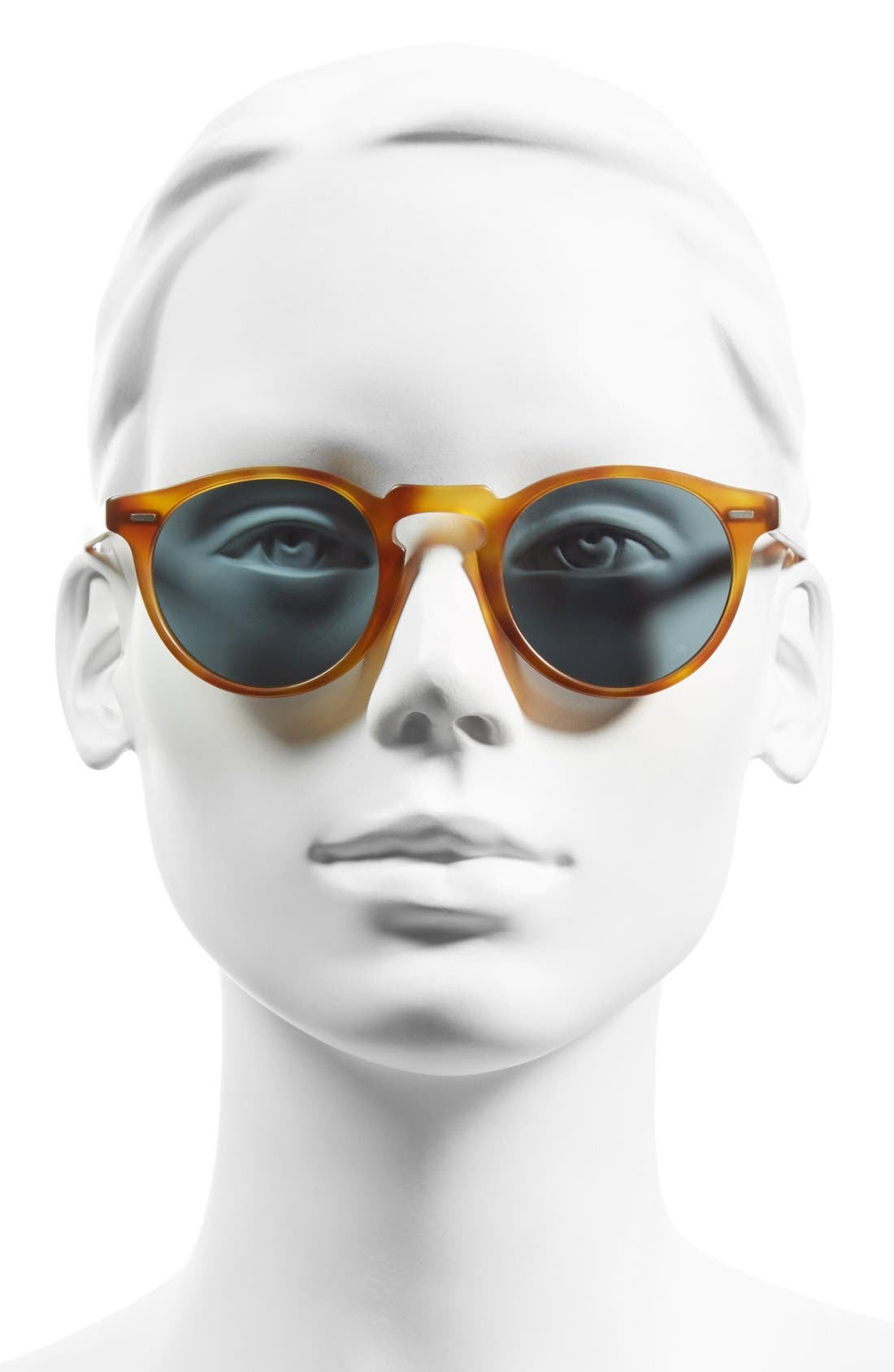 Alternate Image 2  - Oliver Peoples 'Gregory Peck' 47mm Retro Sunglasses