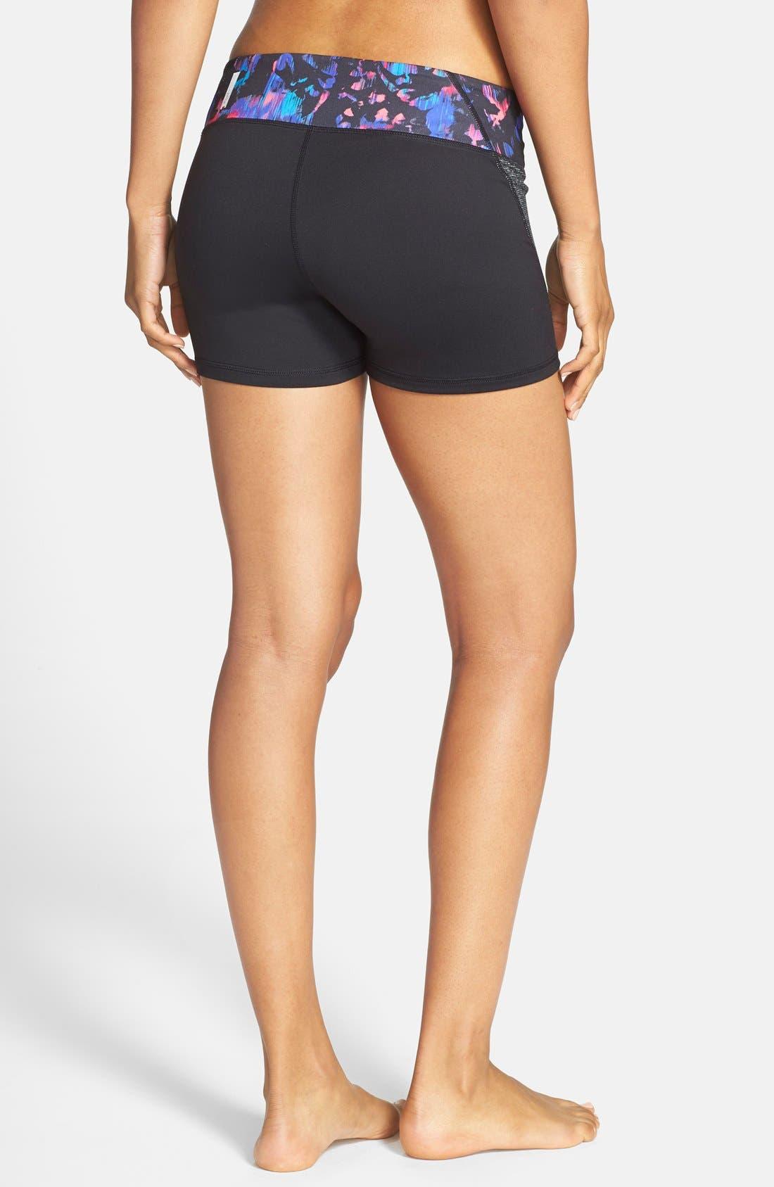 Alternate Image 2  - Zella 'Haute - Fair Game' Slim Fit Shorts