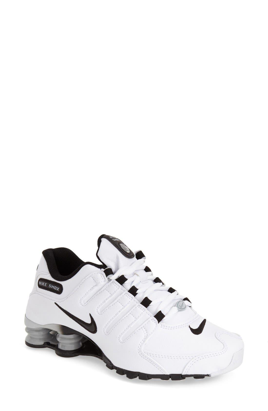 Alternate Image 1 Selected - Nike 'Shox NZ EU' Sneaker (Women)