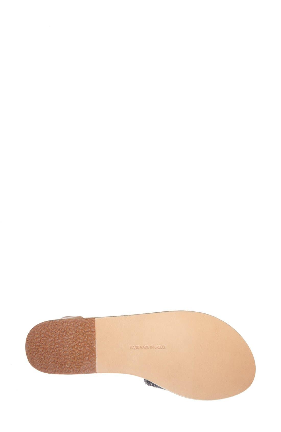 Alternate Image 4  - Ancient Greek Sandals 'Thalpori' Leather Ankle Strap Sandal (Women)