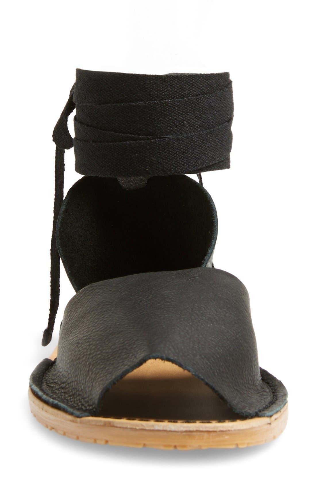 Alternate Image 3  - Topshop 'Feline' Wraparound Ankle Strap Sandal (Women)