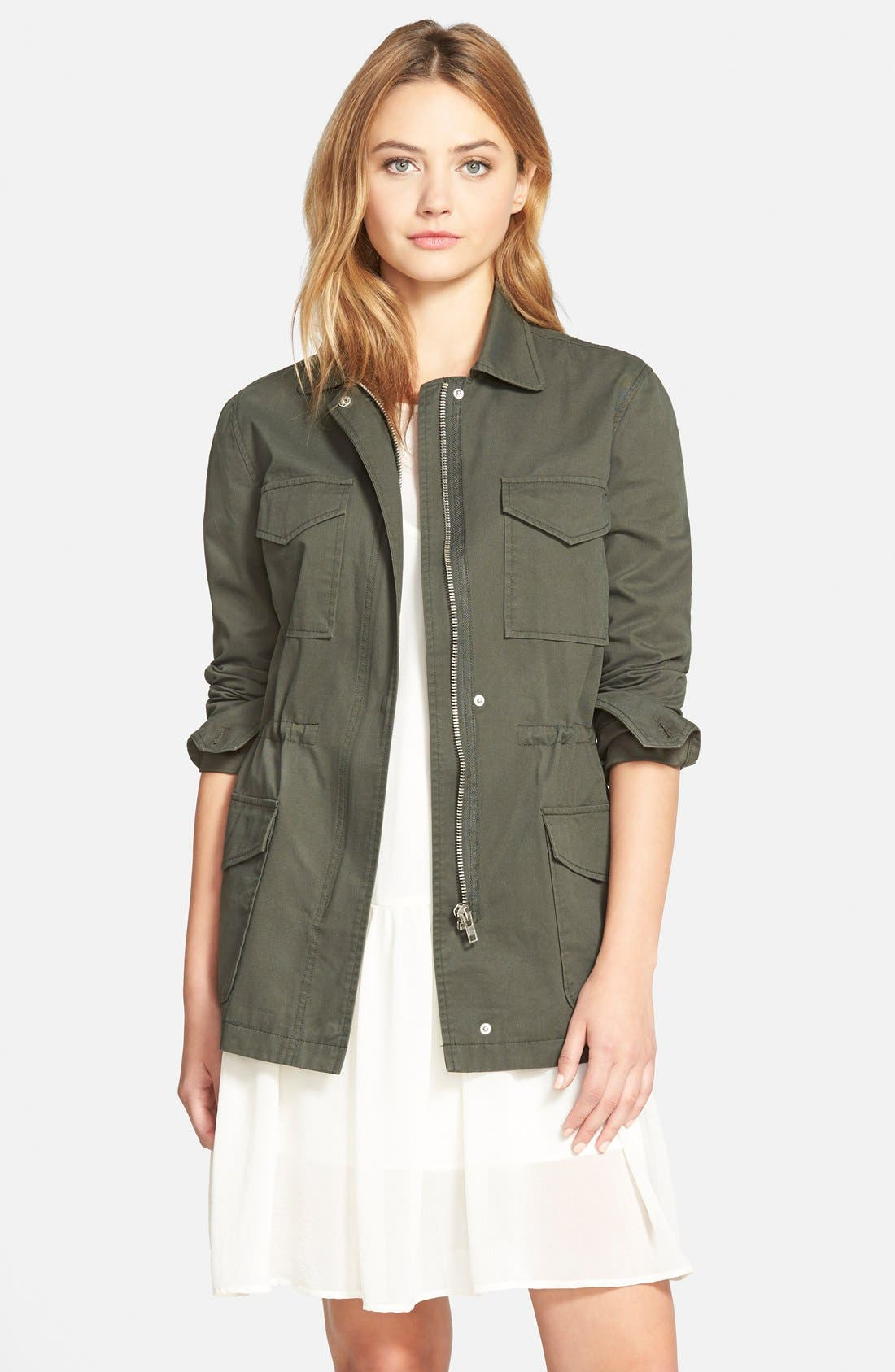 Main Image - cupcakes and cashmere 'Presidio' Military Jacket (Nordstrom Exclusive)