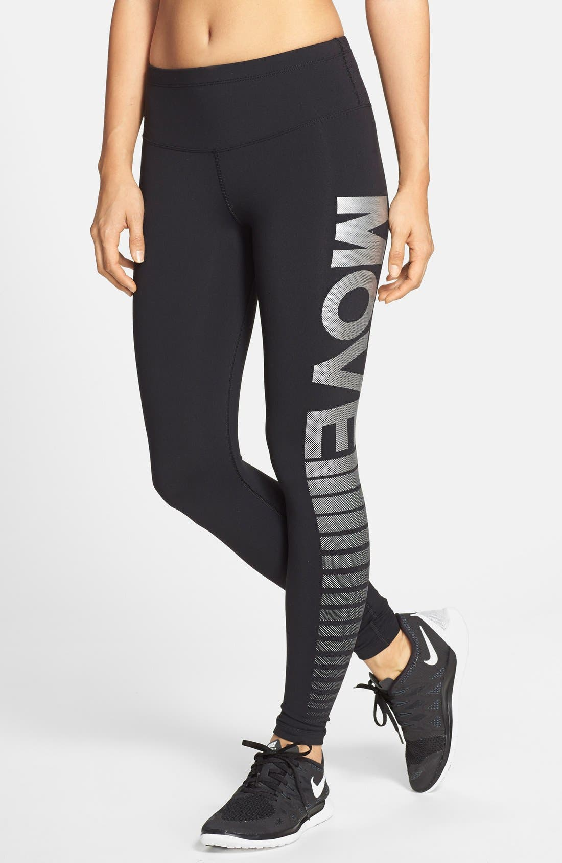 Alternate Image 1 Selected - Lorna Jane 'Move' Full Length Running Tights
