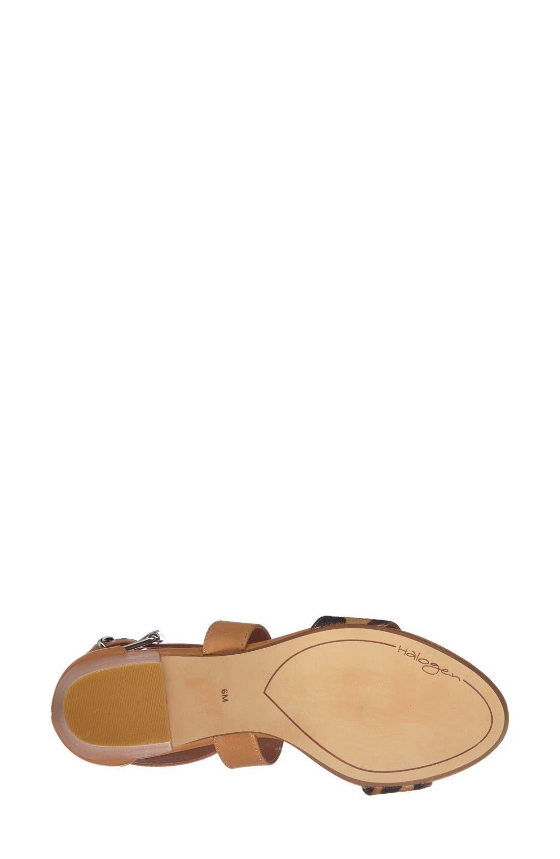 Alternate Image 4  - Halogen 'Rena' Crisscross Strap Sandal (Women)