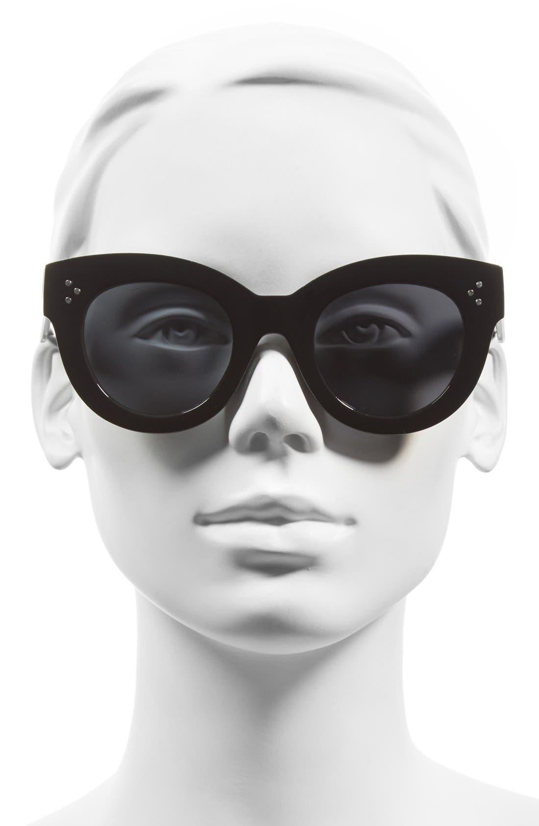 Alternate Image 2  - A.J. Morgan 'Kitty' 54mm Oversized Cat Eye Sunglasses
