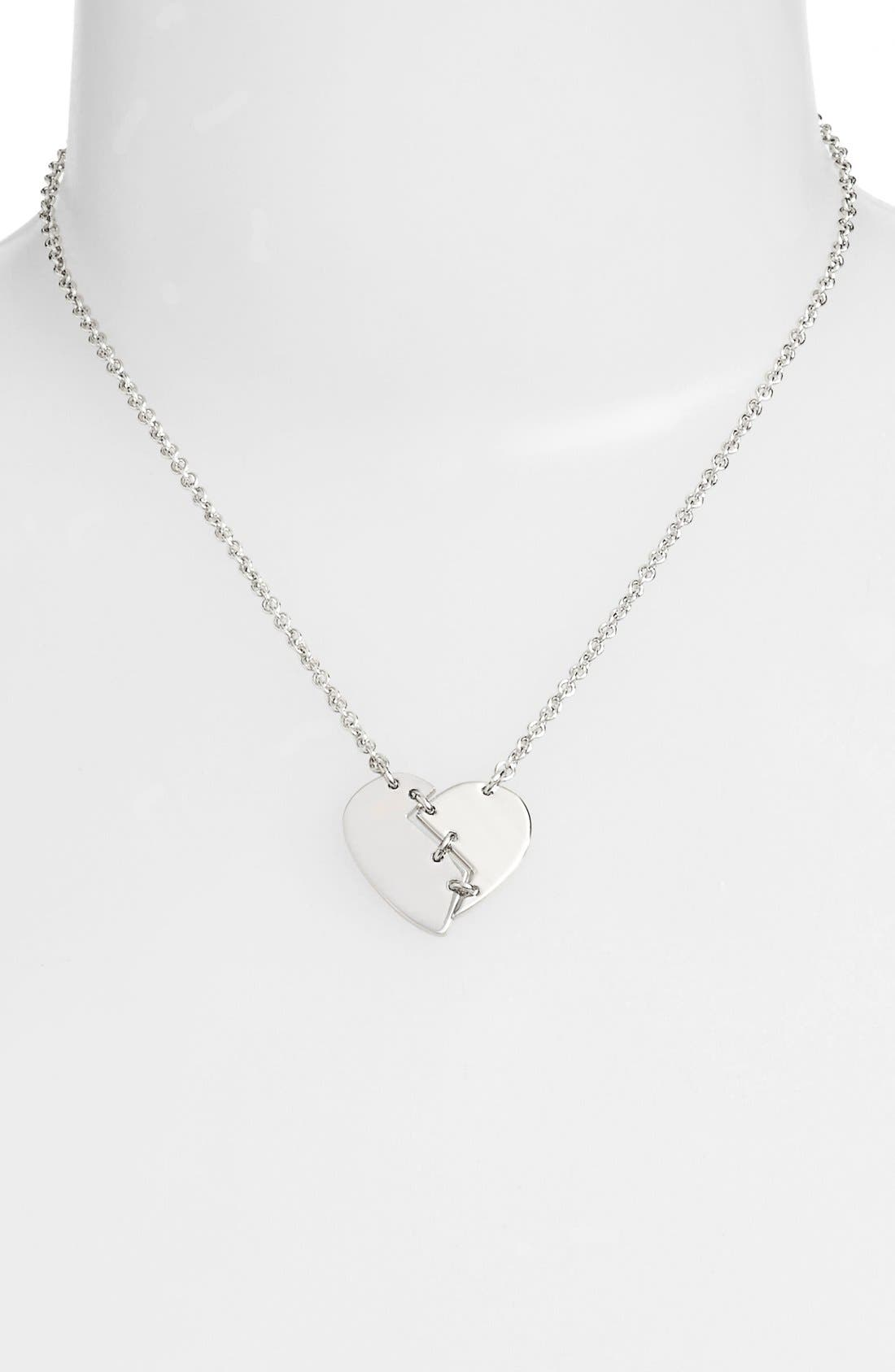 Alternate Image 2  - Marc by Marc Jacobs 'Broken Heart' Pendant Necklace