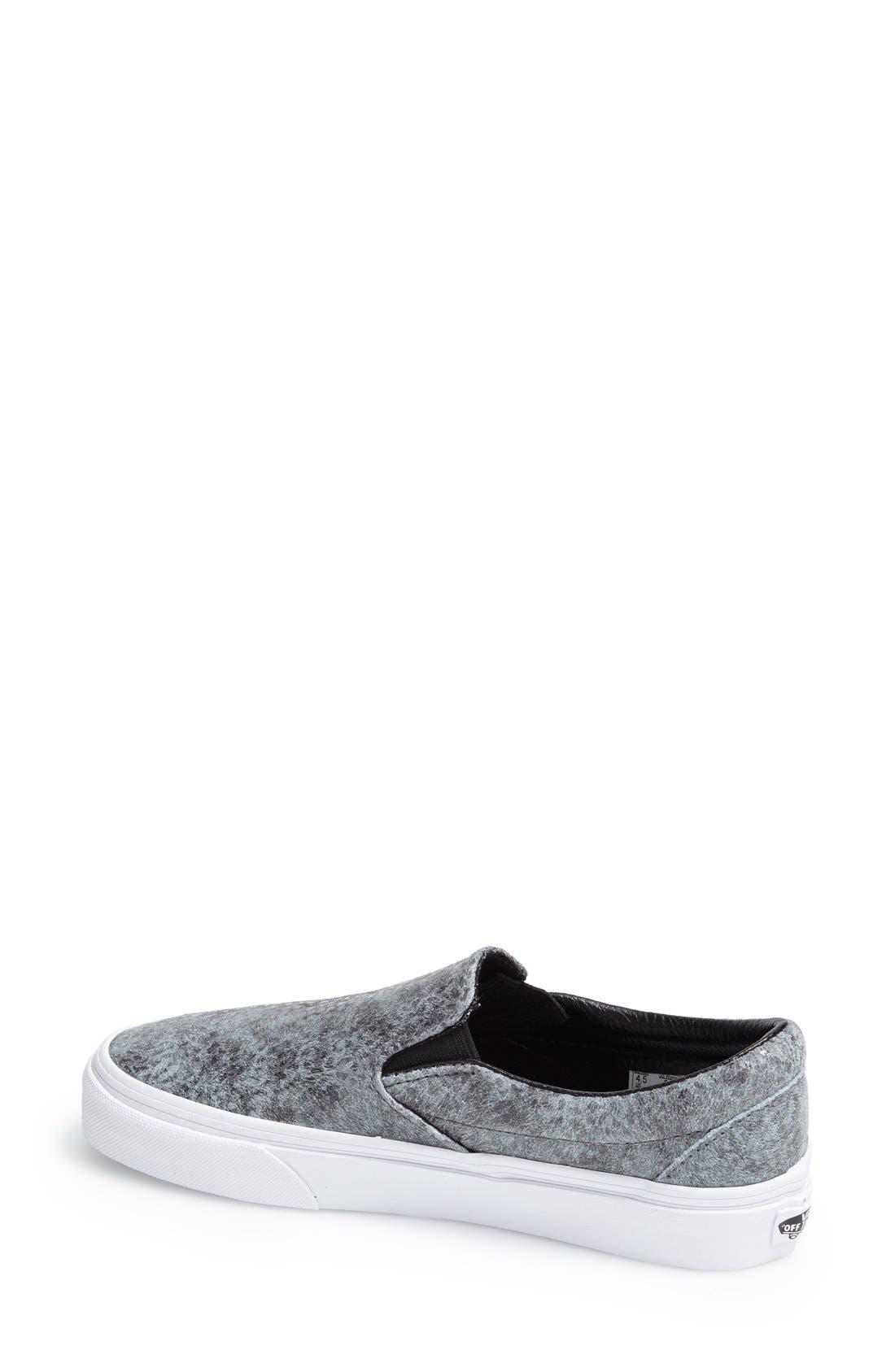 Alternate Image 2  - Vans 'Classic - Pebble Snake' Slip-On Sneaker (Women)