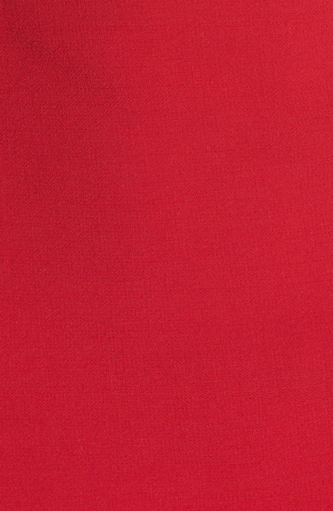 Alternate Image 3  - Dolce&Gabbana Square Neck Wool Crepe Dress